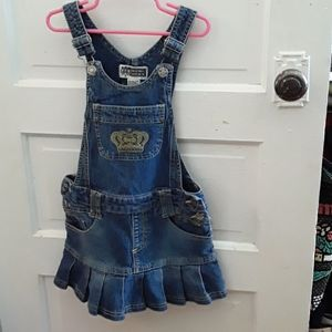 Route 66 Girls Overall Dress